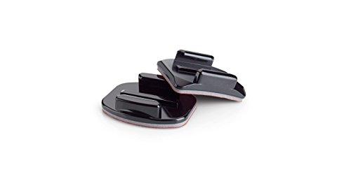 GoPro Klebehalterungen (2 x gebogene, 3 x gerade, geeignet für HD HERO2/HERO3/HERO3+)