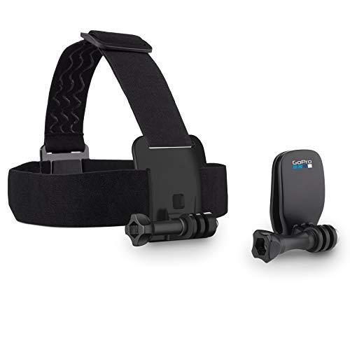 GoPro Kopfband Plus Quick-Clip - geeignet für alle GoPro Kameras  (Offizielles GoPro-Zubehör)