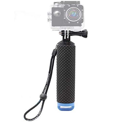 Homeet Schwimmer Handgriff Schwimmender Hand Grip Unterwasser Handstick Monopod Pole Selfie Stick Ergonomisch für Action Kameras【BLAU】