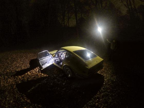 Auto beleuchtet mit Lume Cube