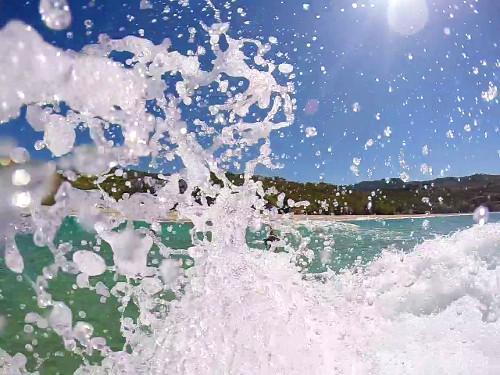 GoPro Aufnahme in Zeitlupe