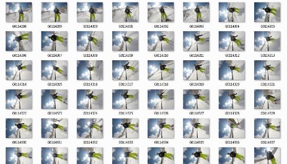 GoPro Fotos Zeitraffer