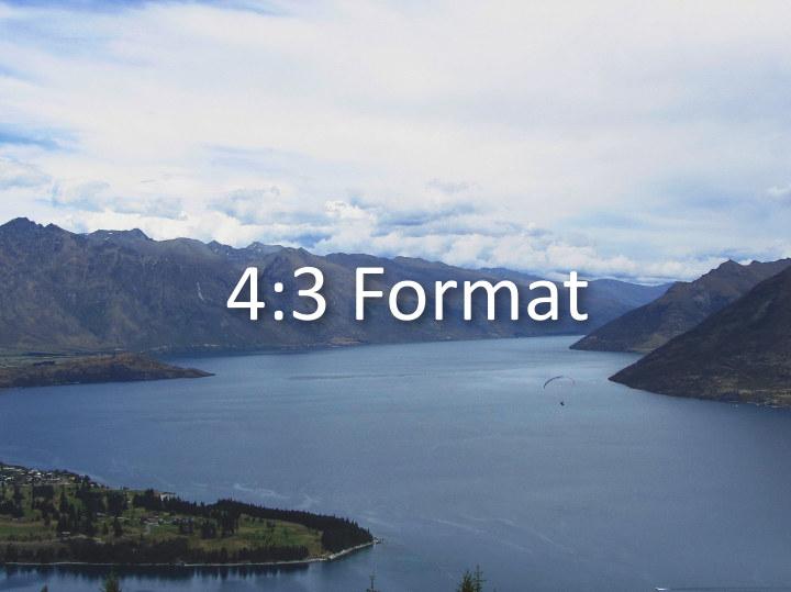 4:3 Format