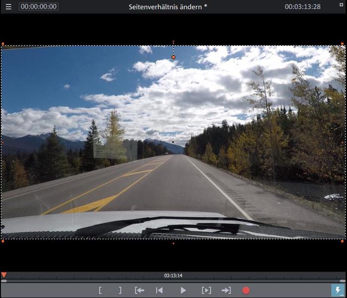 Video Seitenverhältnis ändern 2