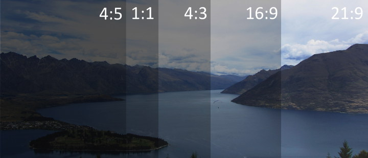 Video Seitenverhältnisse